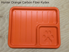 hunter orange dump tray
