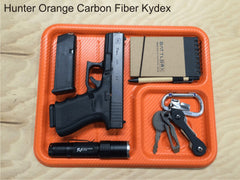 hunter orange edc dump tray