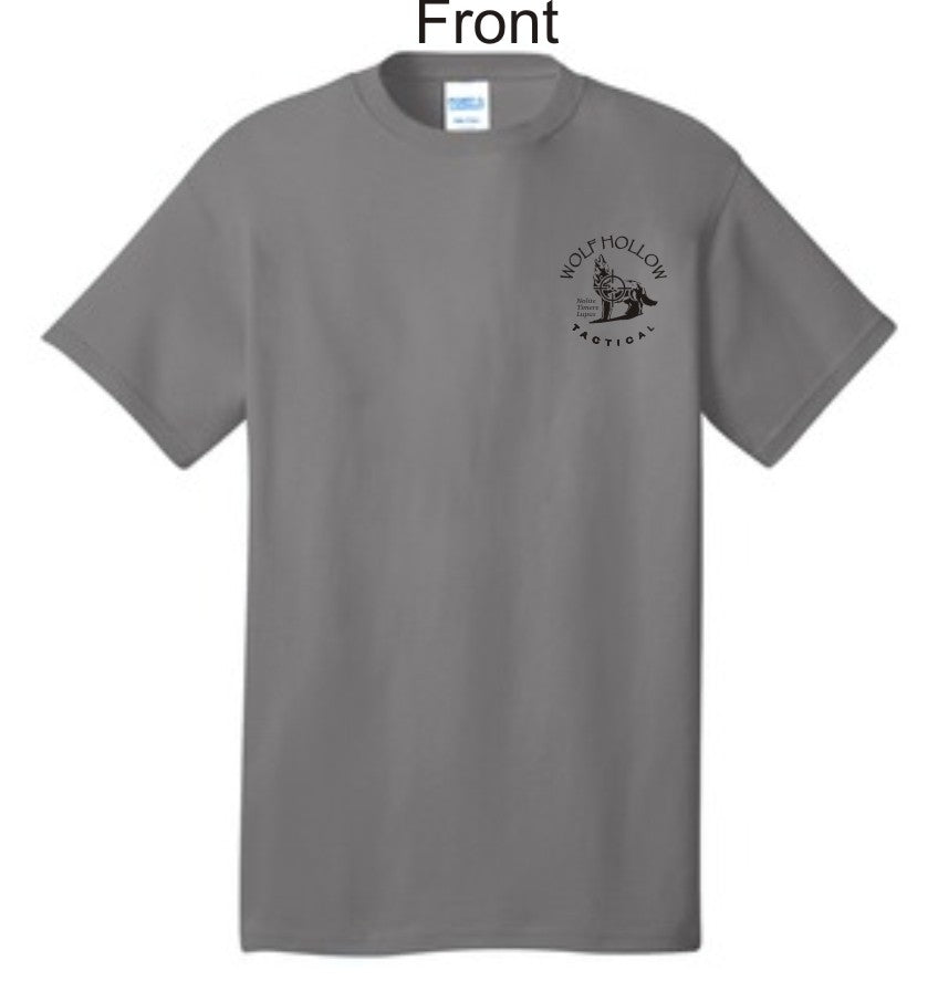 Grey Odins Wolves front shirt