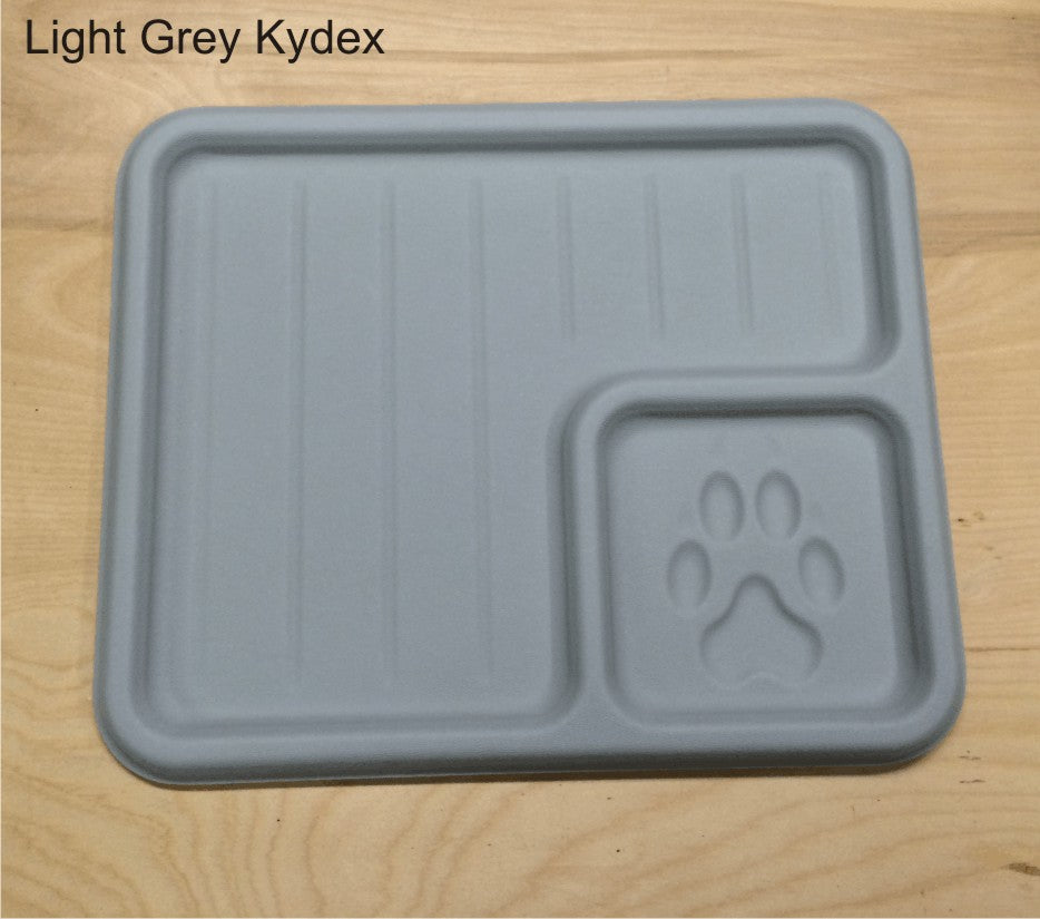 Light grey edc tray