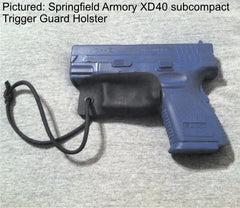Springfield Armory XD40 subcompact trigger guard holster