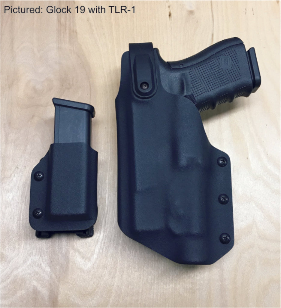 Glock 19 retention holster