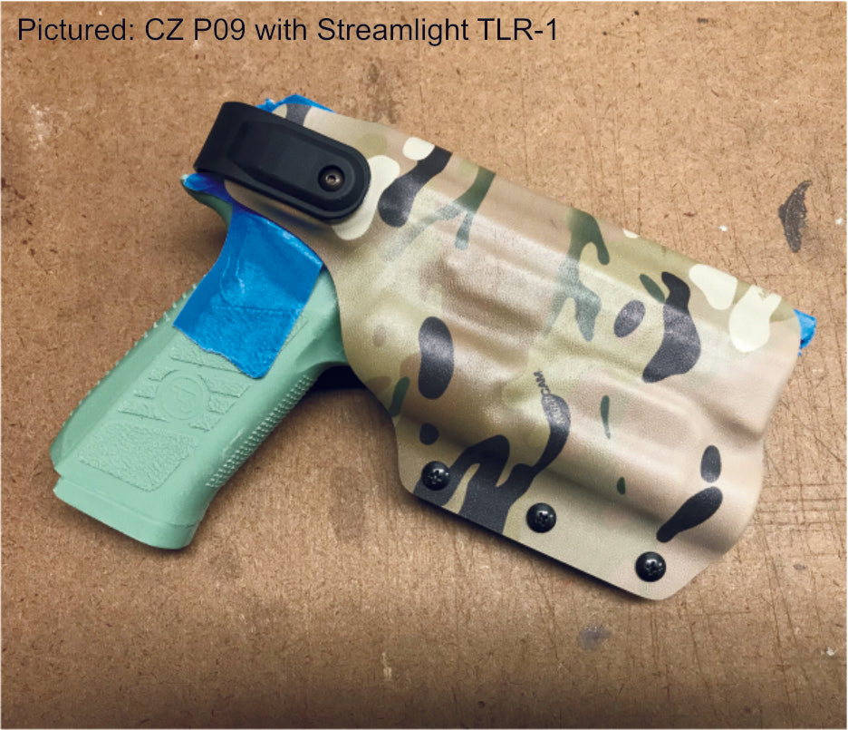 CZ P09 retention holster