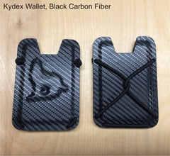 black carbon fiber kydex wallet