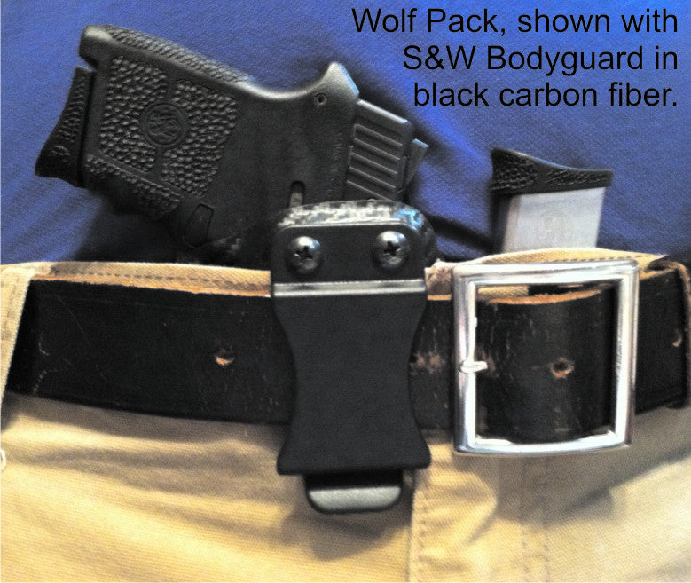 Wolf Pack AIWB for S&W Bodyguard .380