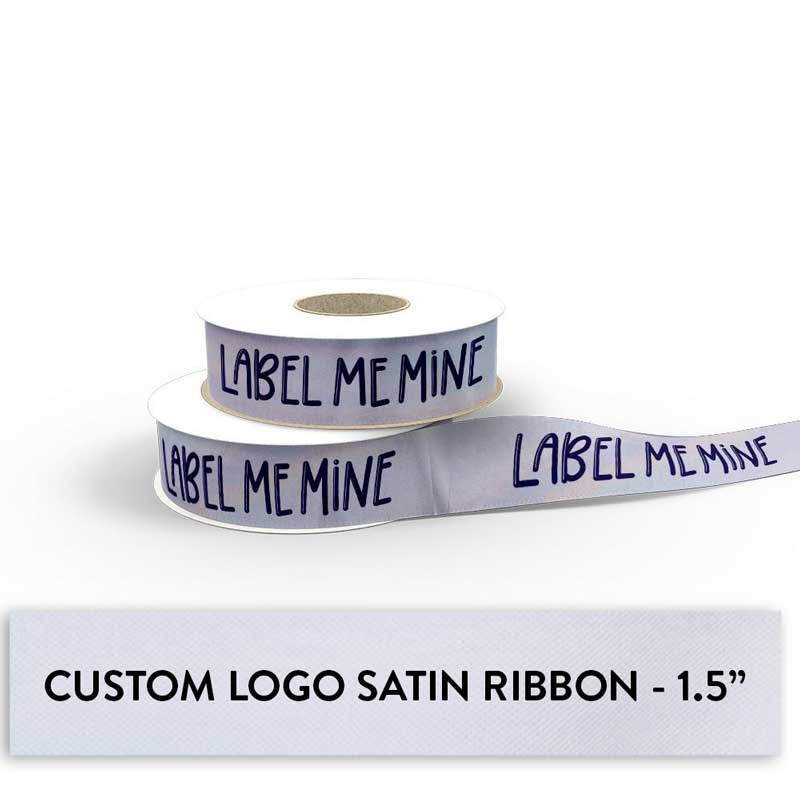 Ribbon With Your Logo - 1.5""