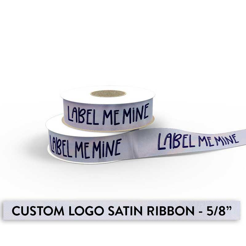 Ribbon With Your Logo - 5/8""