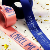 Ribbon With Your Logo - 7/8""