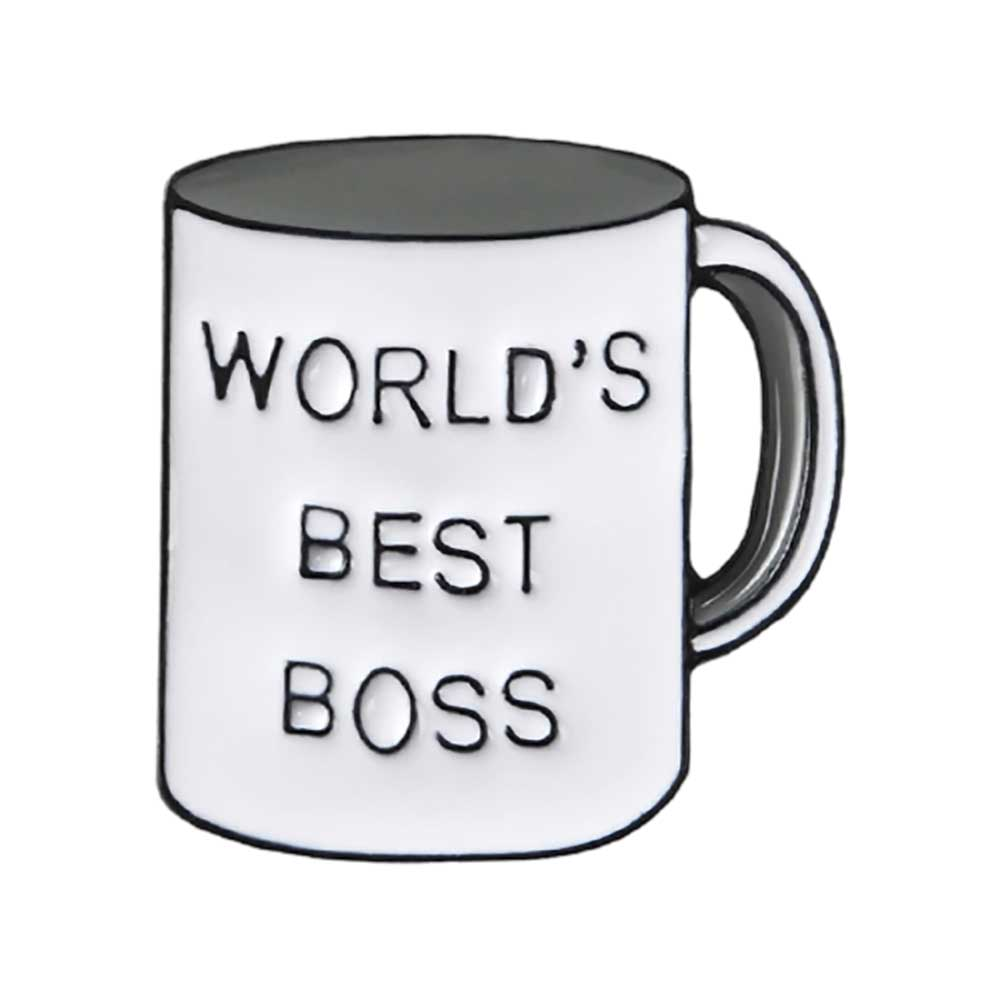 Thank Your Boss + World's Best Boss - Extra-Spirited Spirit Tag