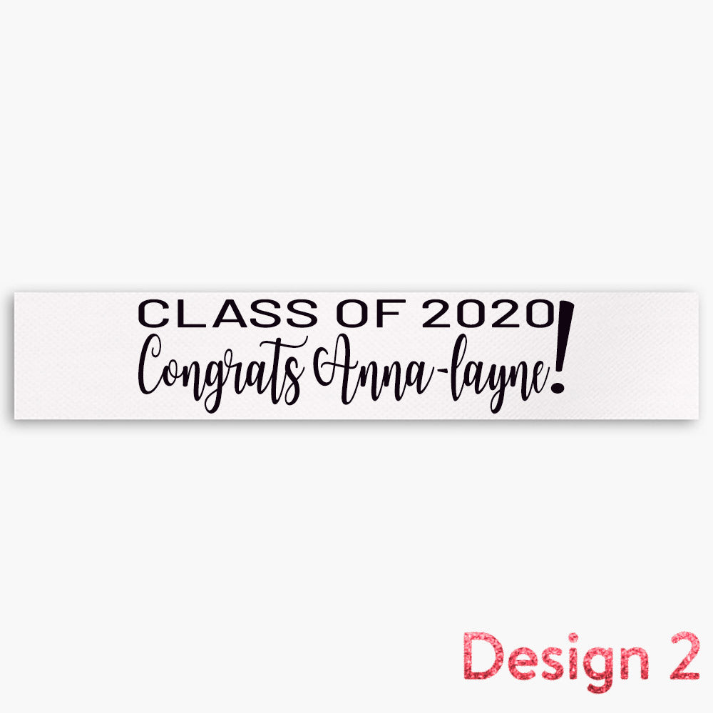 Graduation + Name (Multiple Designs) - 1.5""