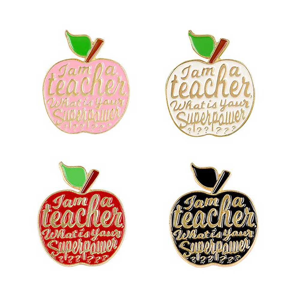 Dear Teachers, You Are Amazing + Enamel Pin (Multiple Designs)