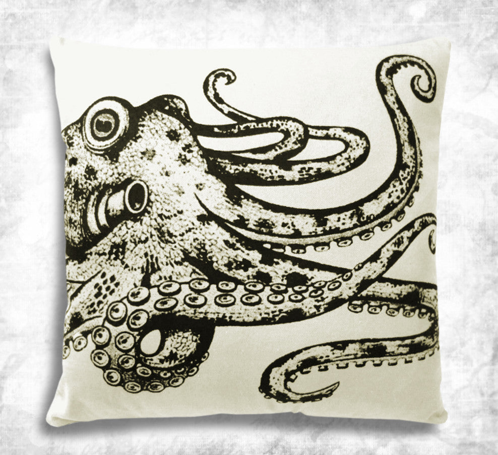 Octopus tentacles cushion cover