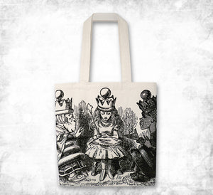 Alice in Wonderland 'Queen for a day' Tote bag