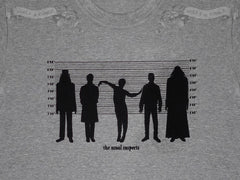 What we do in the shadows 'The usual suspects' men's short sleeve T-shirt ~ grey marle