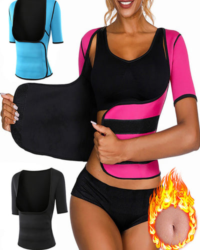 Neoprene Sweat Waist Trainer Corset Body Shaper Slimming Shapewear