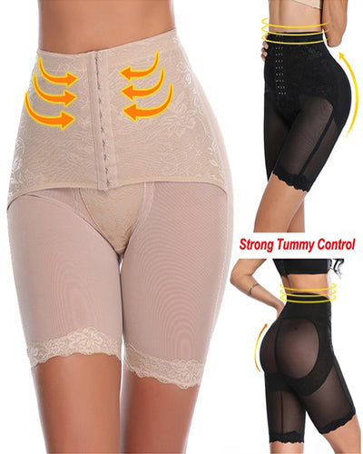 High Waist Tummy Control Pants Slimming Underwear Butt Lifter Shapewear