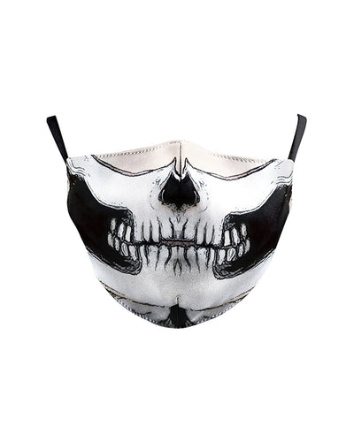 Skull Cartoon Print Breathable Face Mask