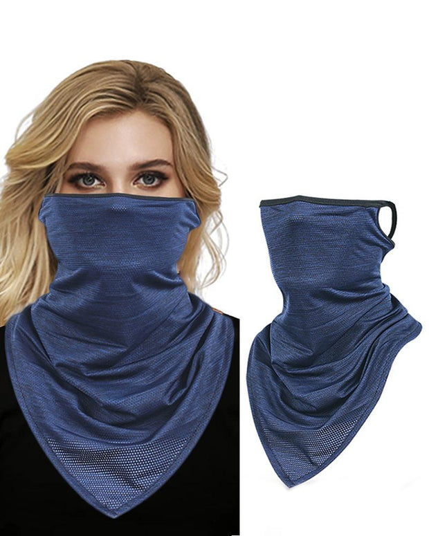 Solid Face Cover Windproof Motorcycling Dust Outdoors