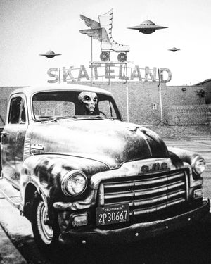"Skateland Original Artwork 8x10"" Print - @Cult.Class"