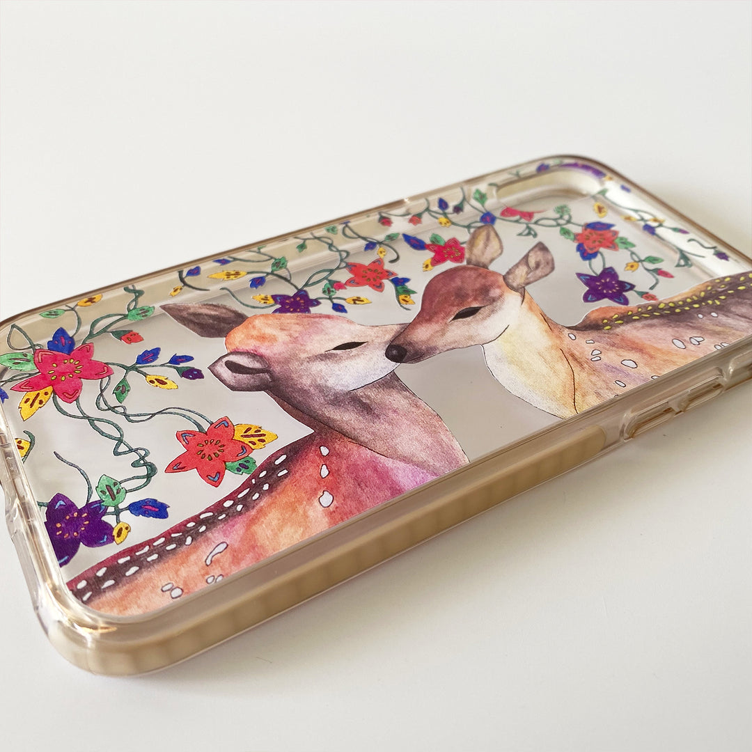 iPhone Clear Case - Bambi