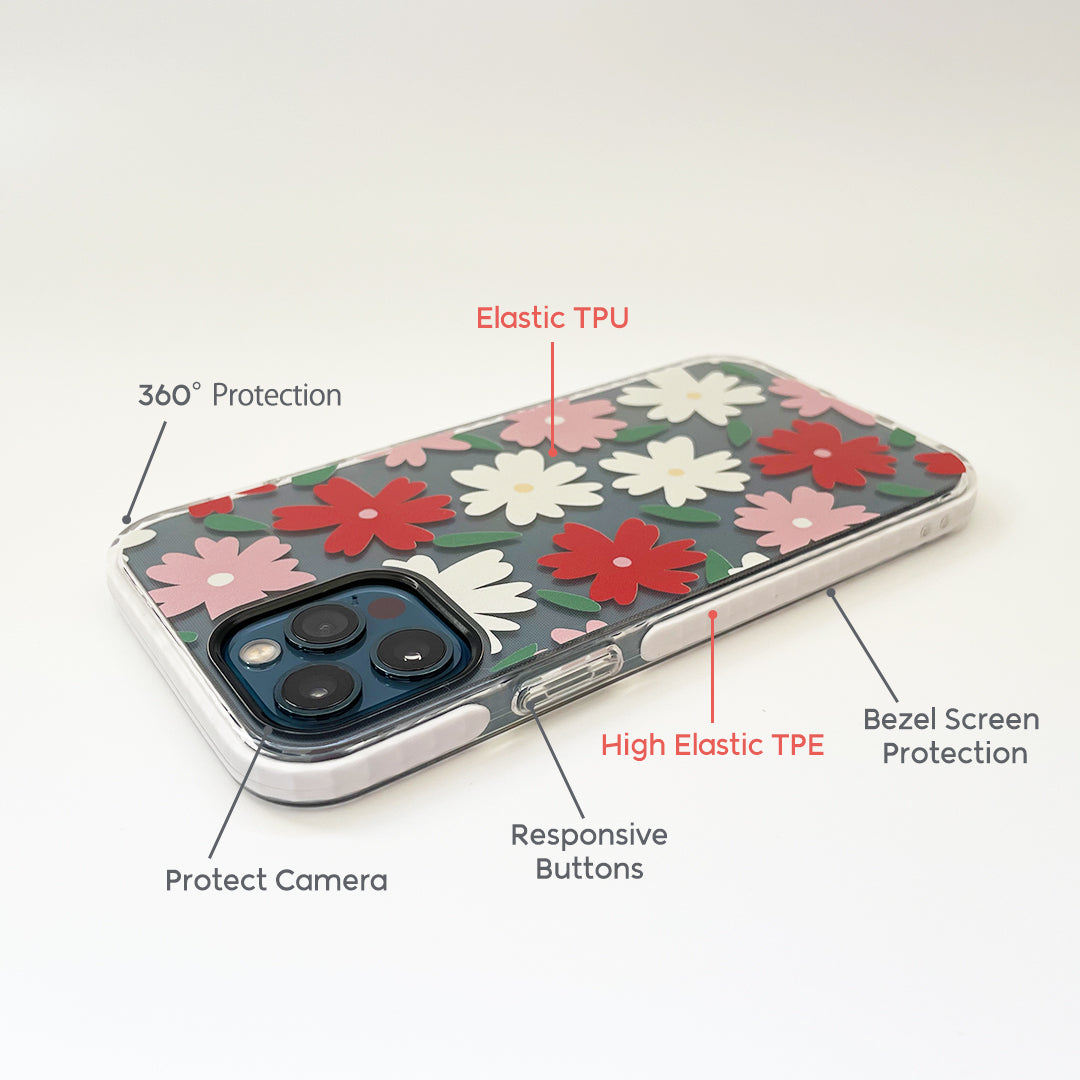 iPhone Clear Case - Dream Flower