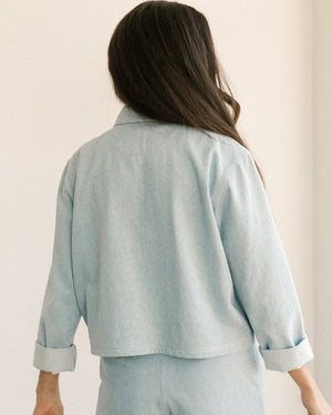 Pierrot Jacket - Light Denim