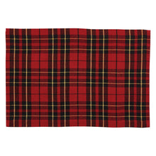 Load image into Gallery viewer, Sportsman Plaid Placemat