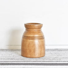 Load image into Gallery viewer, Carved Wood Vase