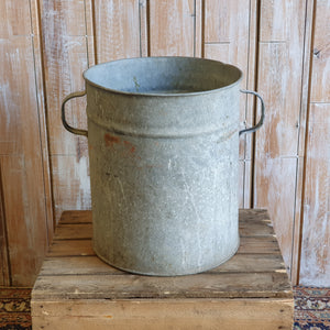 Tall Galvanised Bucket