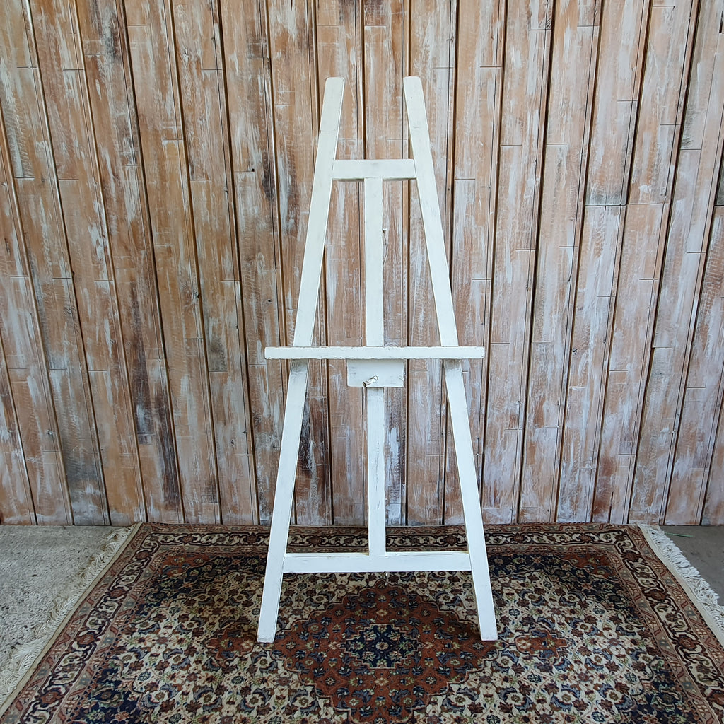 Tall White Easel