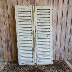 White Vintage Shutters