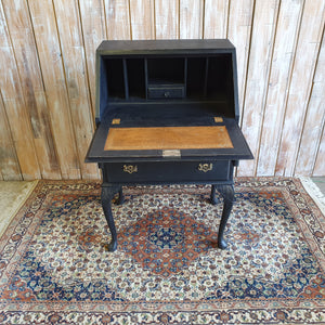 GRACE: Black and Gold Vintage Bureau