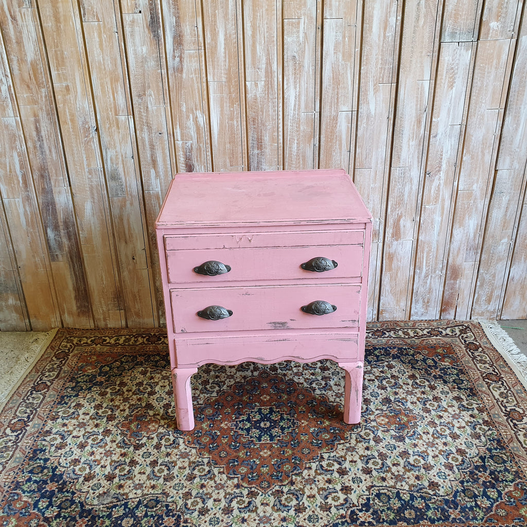 PERCY: Pink Chest Of Draws