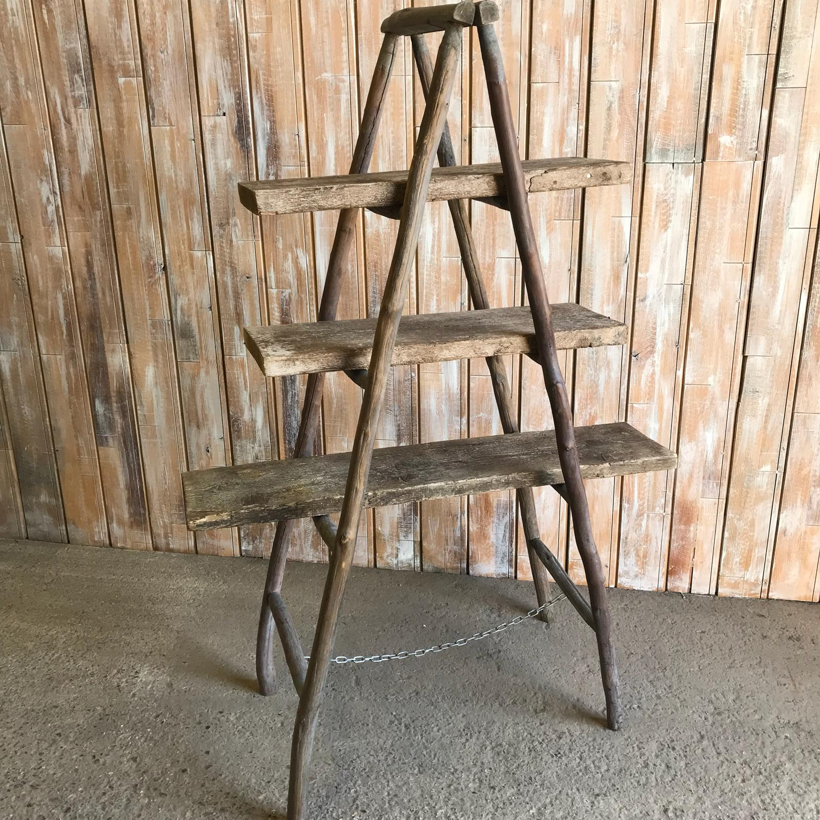 A Frame Rustic Display Ladder