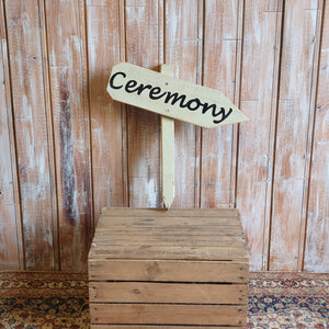 Wooden Ceremony Arrow