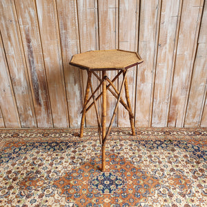 Bamboo Hexagonal Table