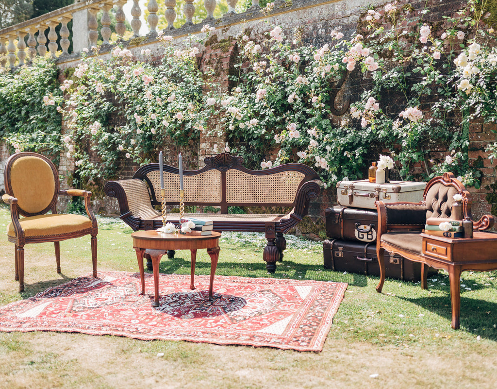 Vintage Seating Area