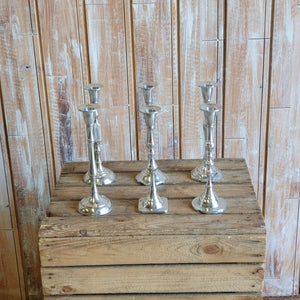 Aluminium Single Candlestick Holder