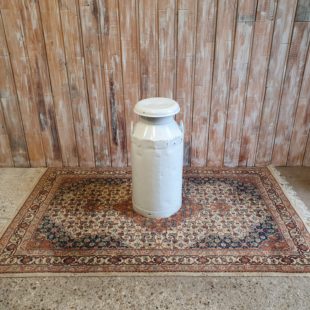 Large White Vintage Nestle Milk Churn