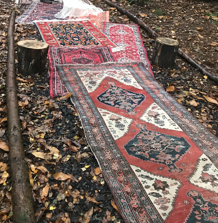 Vintage Rug Aisle Package