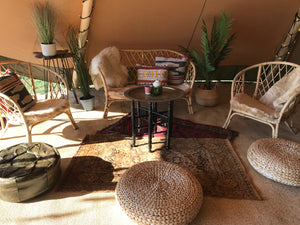 Boho Relaxed Seating Area