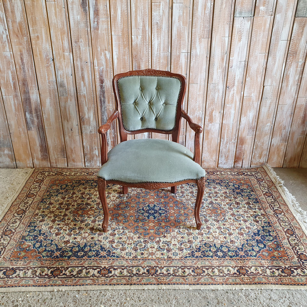 BILL & BEN: Muted Green Vintage Chairs