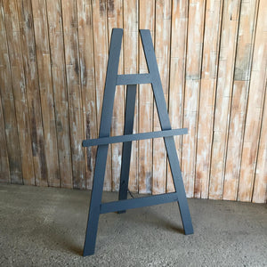 Grey Wooden Easel