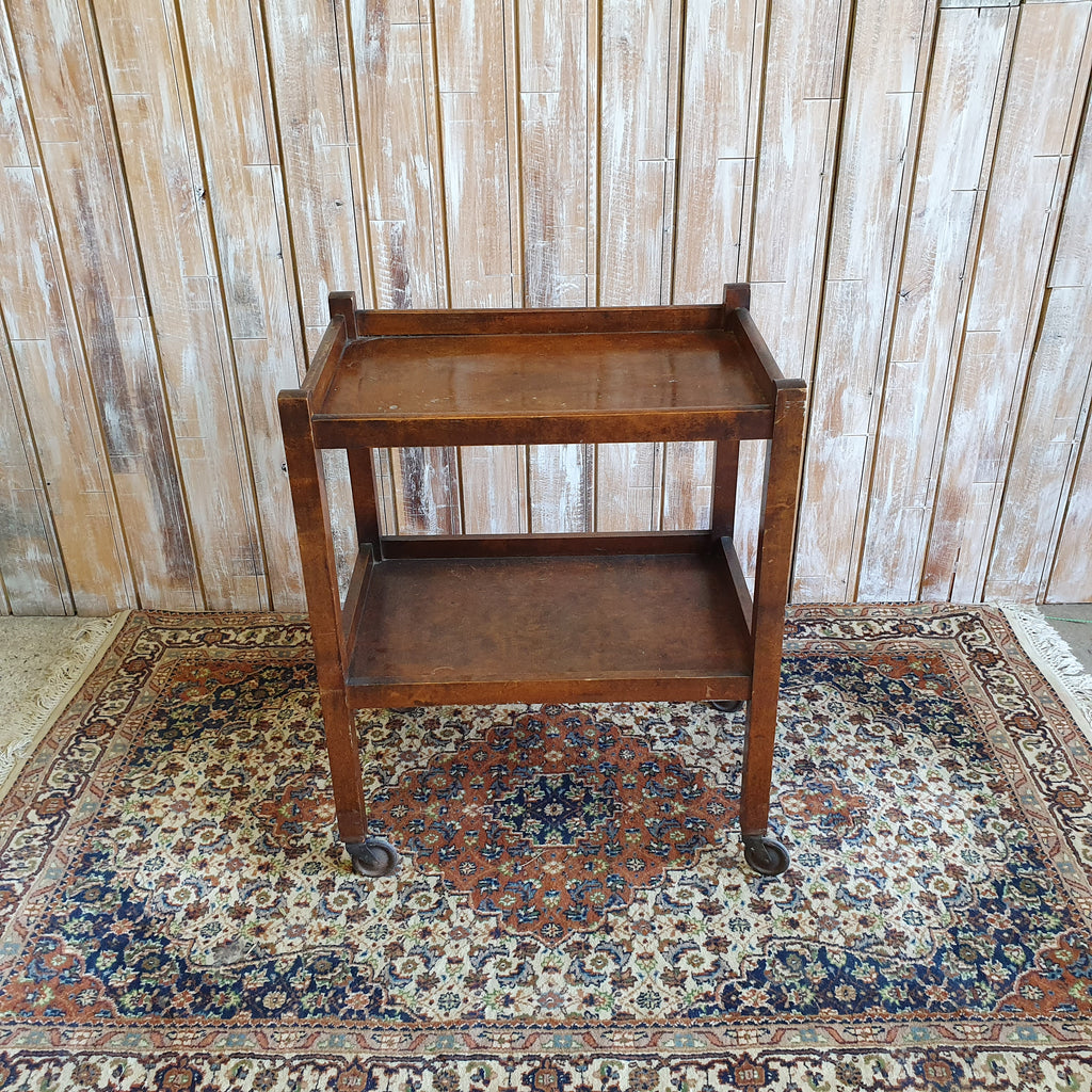 Vintage Wooden Trolley
