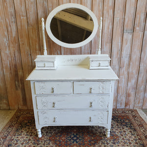 JENNY: White Chest of Drawers