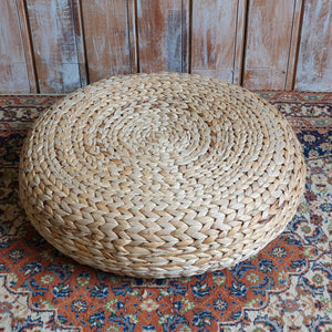 Wicker Pouffe