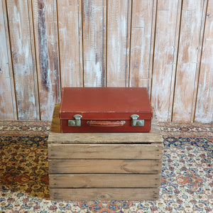 Case 3: Mini Brown Suitcase