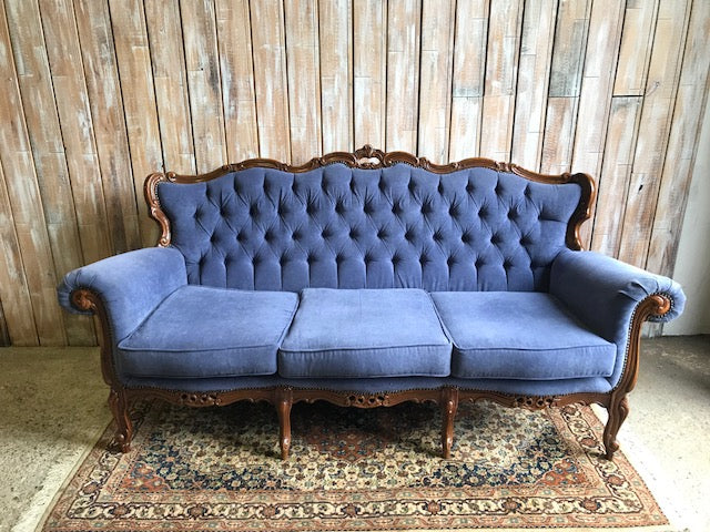 NEVILLE: Vintage Three Seater Sofa