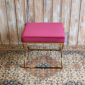 Contemporary  Pink Stool