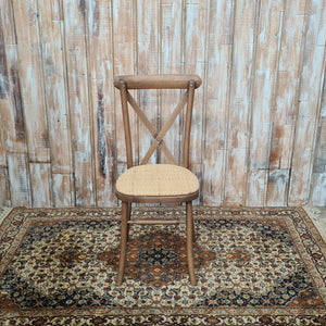 Wooden Crossback Chair